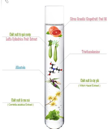 Thành phần Vitamin C Peeling Gel