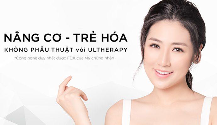 công nghệ Ultherapy là gì