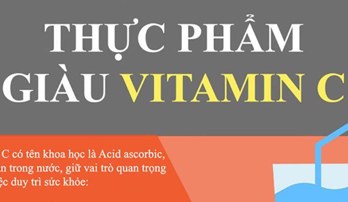 top 10 thực phẩm giàu Vitamin C tăng sức đề kháng