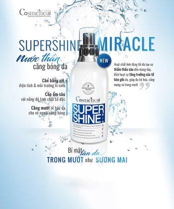 Bán nước thần căng bóng da Supershine Miracle của nhà Cosme Heal